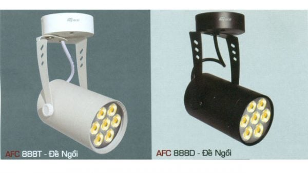 Đèn led chiếu điểm Anfaco AFC-888-12W-ĐN