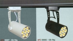 Đèn led chiếu điểm Anfaco AFC-888-12W-ĐR